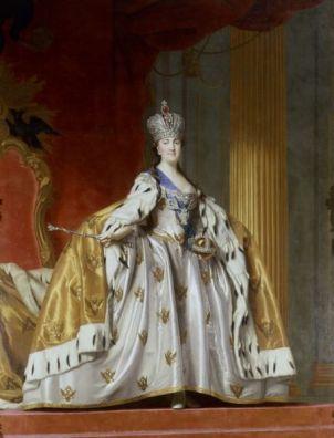 Virgilius Eriksen, Catalina II La Grande, Emperatriz de Rusia.