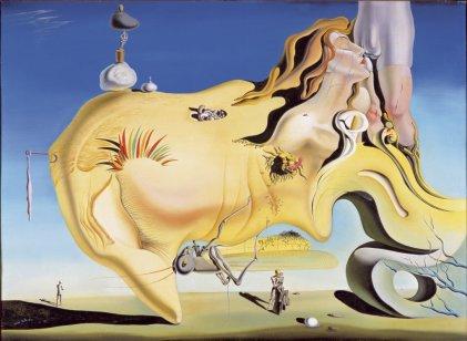 Salvador Dalí, El Gran Masturbador