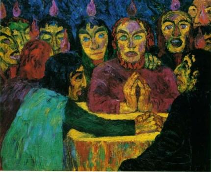 Emil Nolde, Pentecostés. 1909.