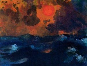 Emil Nolde, Mar y sol.