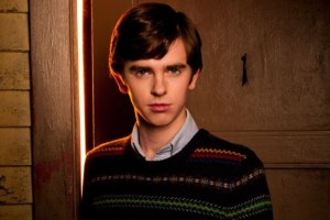 Freddie Highmore as Norman Bates