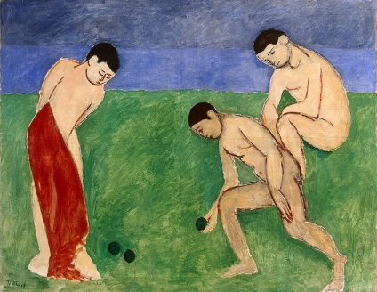 Henri Matisse, Game of Bowls.