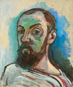 Henri Matisse, Self-Portrait.