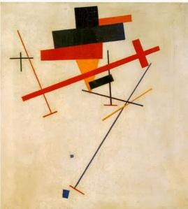 Kazimir Malévich, Composición Suprematista, 1915