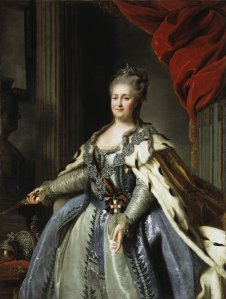 Rokotov Fyodor, Portrait of Catherine II