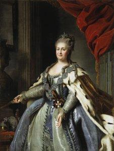 Rokotov Fyodor, Portrait of Catherine II
