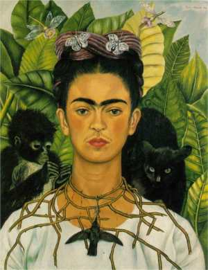Self-Portrait-with-Necklace-of-Thorns
