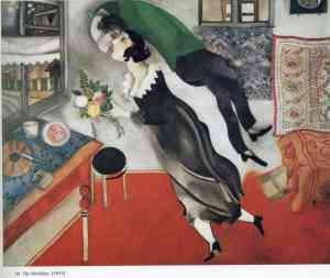 Marc Chagall, The Birthday, 1915.