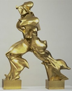 Umberto Boccioni, Las formas únicas de la continuidad en el espacio.
