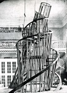 Vladimir Tatlin – Monumento a la tercera internacional – 1919.