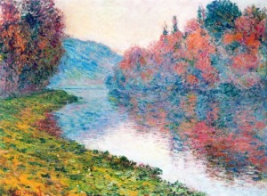 Banks of the Seine at Jenfosse