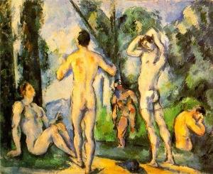 Paul Cézanne, Bathers.