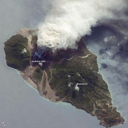 Soufrière 2009 eruption