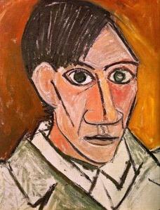 Pablo Picasso, Autorretrato. 1907.