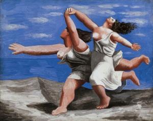 Pablo Picasso, Dos Mujeres Corriendo por la Playa. 1922. (Etapa Colosal)