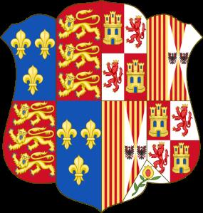 Escudo de Armas de Catalina de Aragón