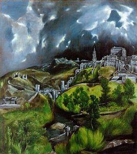 El Greco, Vista de Toledo