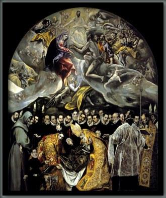 El Greco, Entierro del conde Orgaz