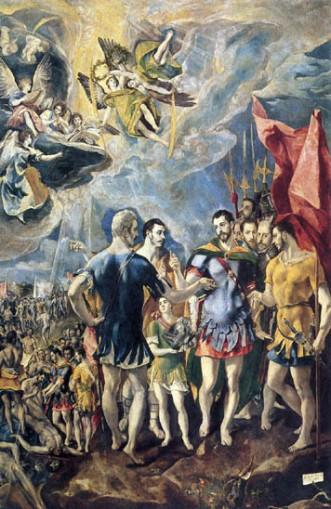 El Greco, Martirio de San Mauricio