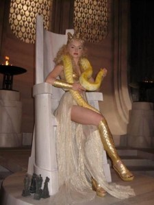 Izabella Miko as Athena