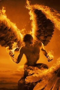 Ángel fuego celedtial [.]