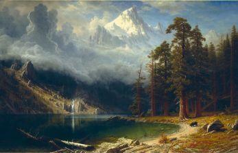 Albert_Bierstadt_-_Mount_Corcoran-1